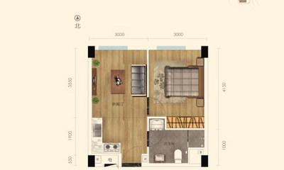 52.8㎡公寓户型