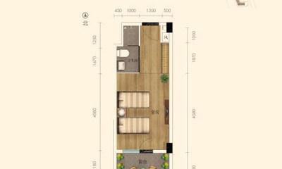 43.75㎡公寓户型