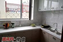现代风格样板间厨房实拍图