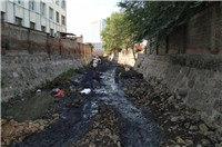 围观!东沙河应急抢险工程完成阶段性施工建设!